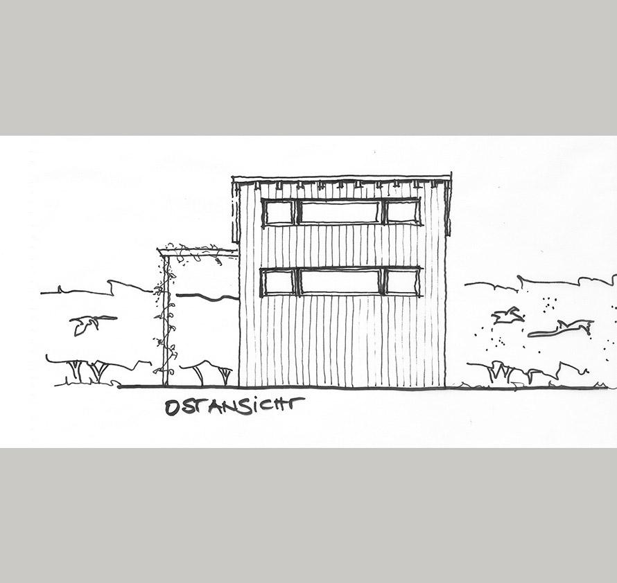 architektin dipl.-ing. stefanie käding: neubau einer gartenlaube   potsdam