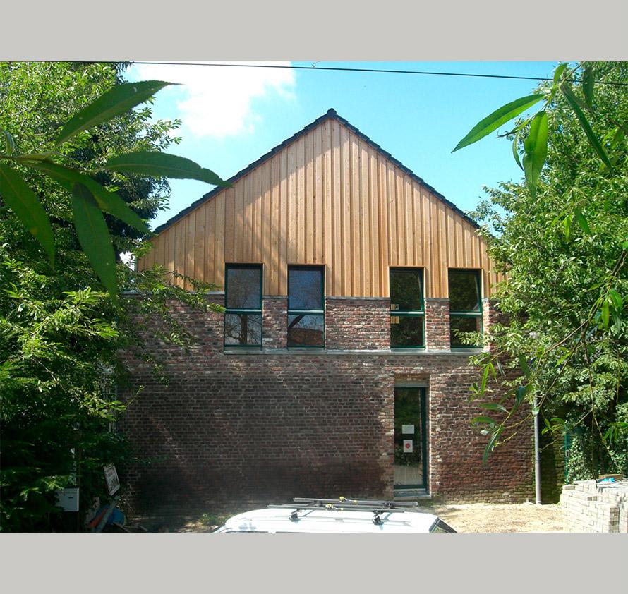 architektin dipl.-ing. stefanie käding: umbau einer hofstelle in ein seminar- und praxiszentrum | willich