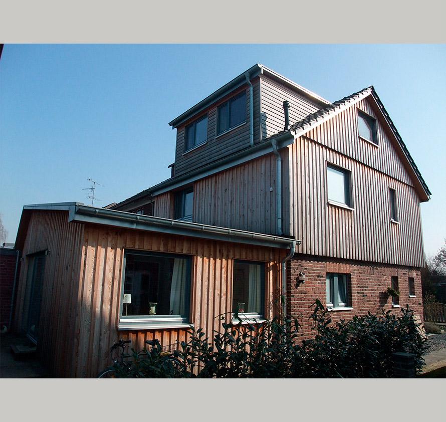 architektin dipl.-ing. stefanie käding: umbau und anbau einfamilienhaus | krefeld