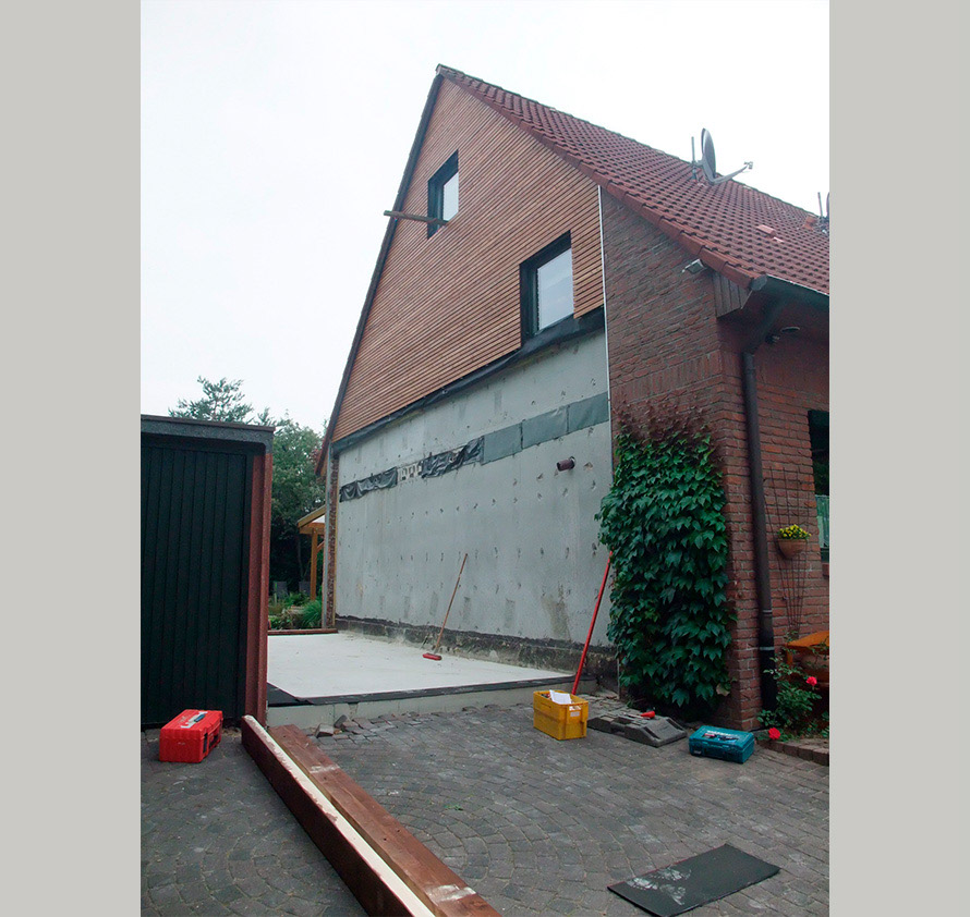 architektin dipl.-ing. stefanie käding: anbau an einfamilienhaus | willich