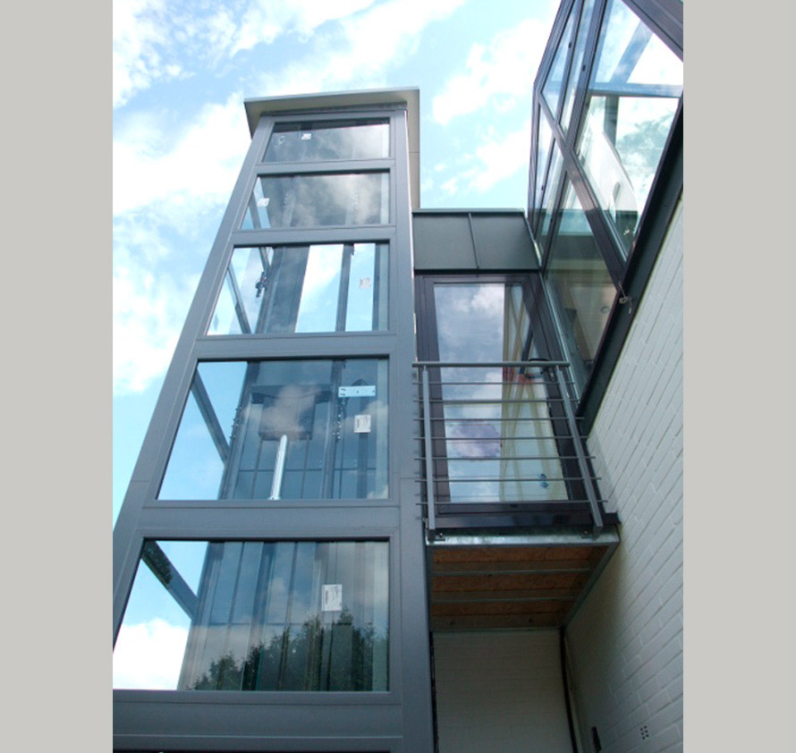 architektin dipl.-ing. stefanie käding: sanierung dach, errichtung aufzug und zugangssteg | willich anrath